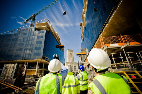 Health and safety in a construction environment